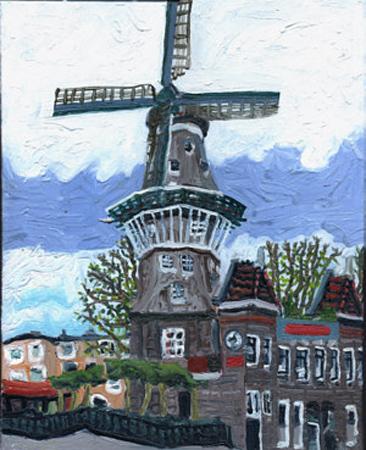 Amsterdam widmill